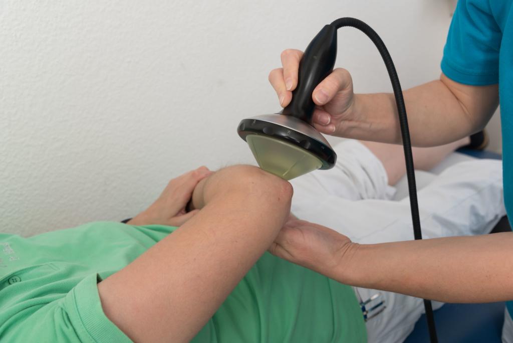 Orthopäde Kassel - Stoßwellentherapie am Arm